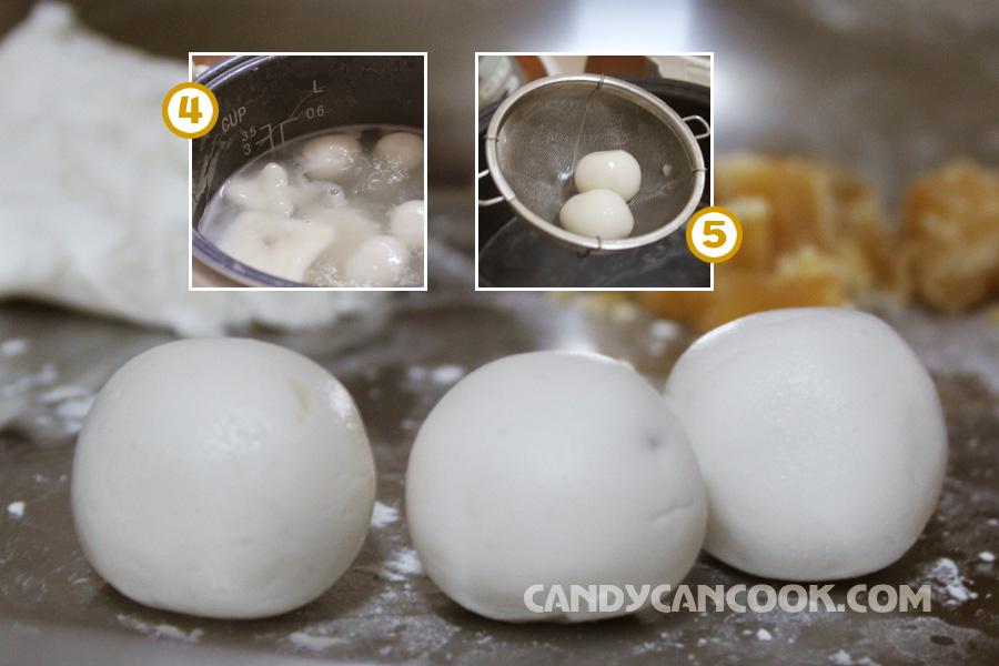 cách luộc bánh trôi