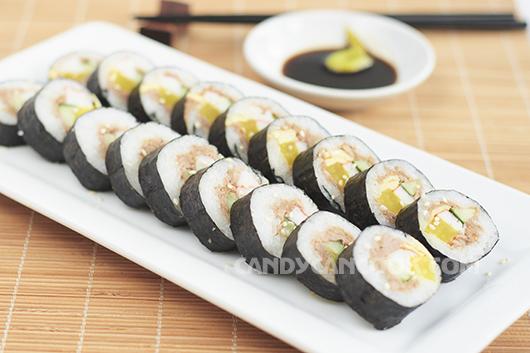 Thoả sức sáng tạo với món Cơm cuộn rong biển Hàn Quốc