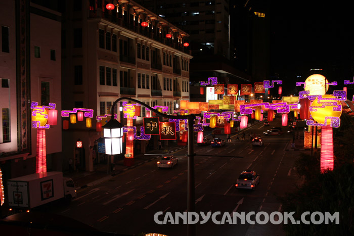 China Town in Mid-Autumn Festival