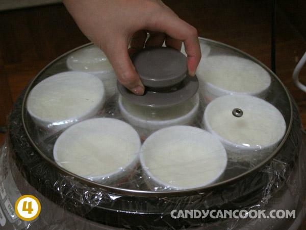 cách ủ sữa chua