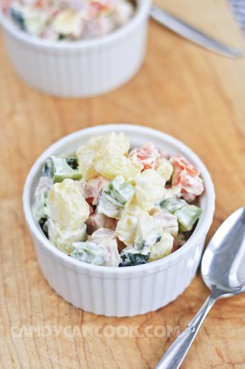 Thưởng thức Salad Nga với chính dấu ấn của mình