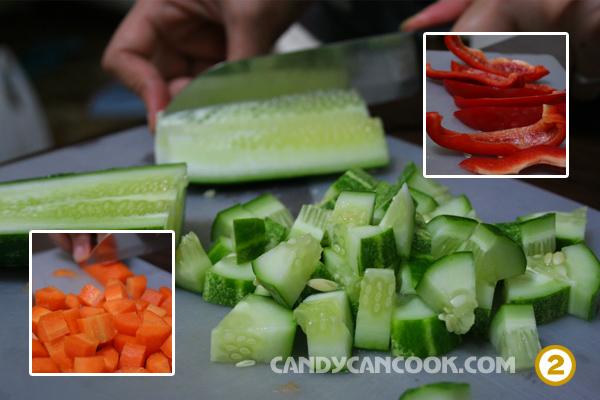 Cach lam salad Nga