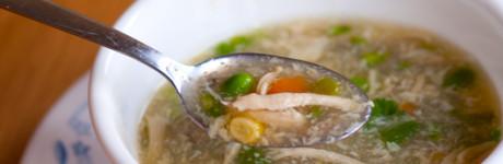 súp gà măng tây