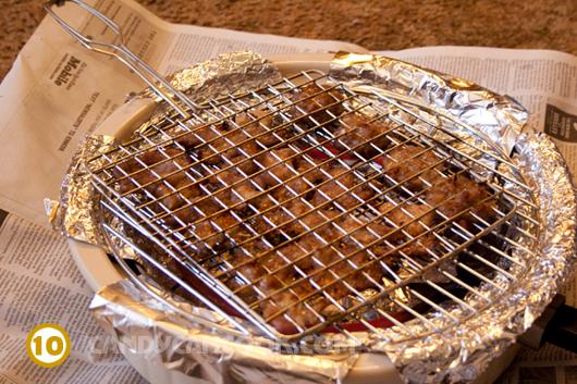 Cách nướng thịt bằng lò nướng điện