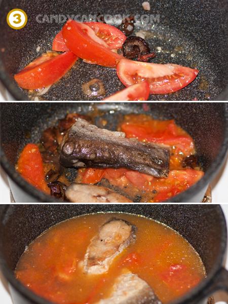 Các bước nấu canh riêu cá