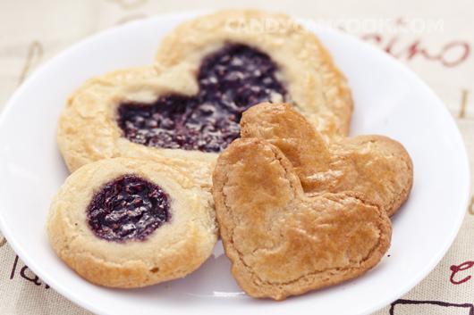 Bánh quy bơ mứt raspberry ^^ - ăn một lần là sẽ thích mê :D