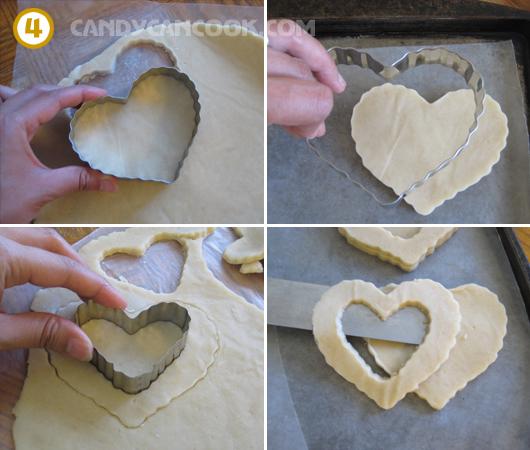 Cách cắt bánh quy bơ