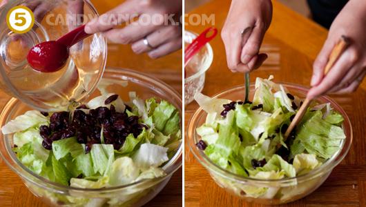 Trộn salad trước khi ăn khoảng 5 - 10 phút