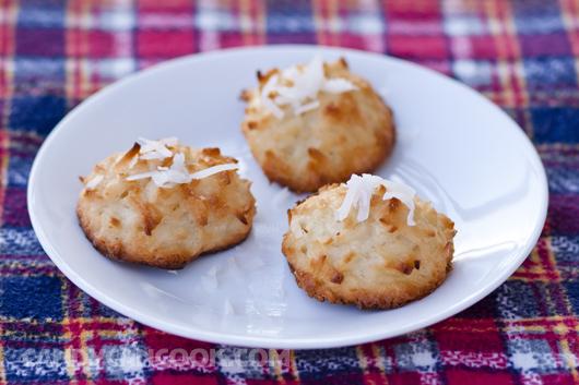 Mời cả nhà thưởng thức bánh quy dừa - Coconut Macaroons
