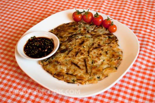 Bánh zucchini pancake - Món ăn vặt hấp dẫn
