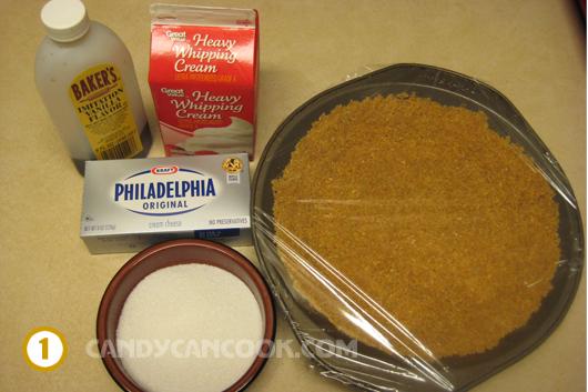 Các nguyên liệu làm bánh cheese cake
