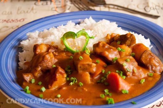 Beef Japanese Curry - Món ăn ưa thích của vợ chồng tớ