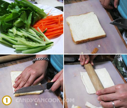Làm dẹt lát bánh mỳ
