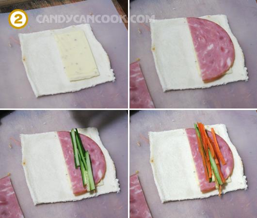 Bánh mỳ sushi thịt nguội