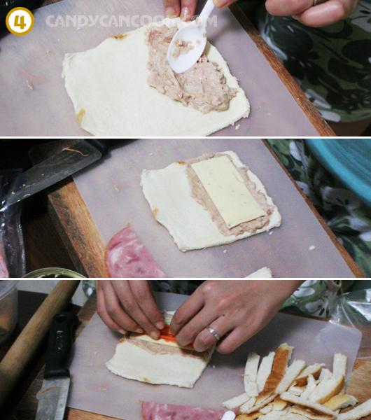 Bánh mỳ sushi tuna