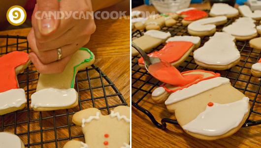 Cách trang trí bánh quy với royal icing