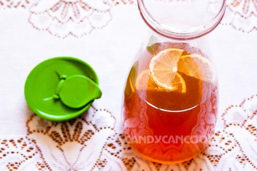 Hấp dẫn trà chanh - iced lemon tea