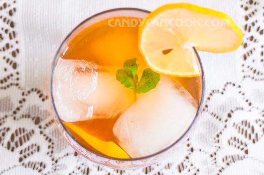 Cốc trà chanh - iced lemon tea thanh mát ^^