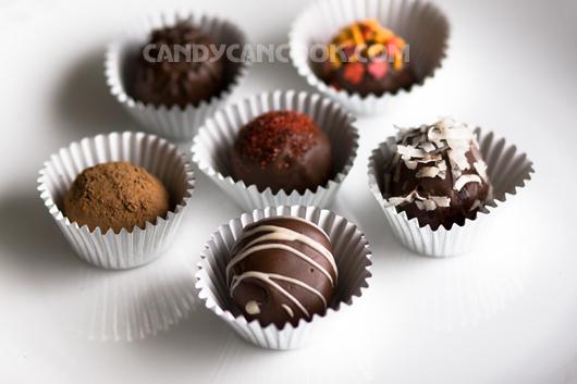 Chocolate truffles cho ngày lễ Tình nhân