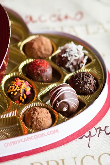 Hộp Chocolate Truffles cho tất cả mọi người