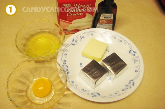 Các nguyên liệu chính làm Chocolate Mousse