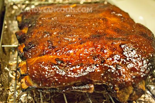 Sườn nướng (BBQ ribs) mới ra lò
