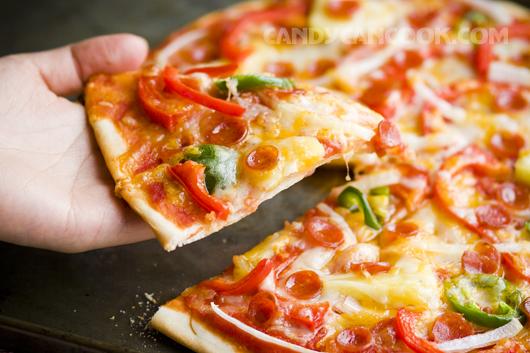 Pizza tự làm theo sở thích thì còn gì bằng nhỉ ^^