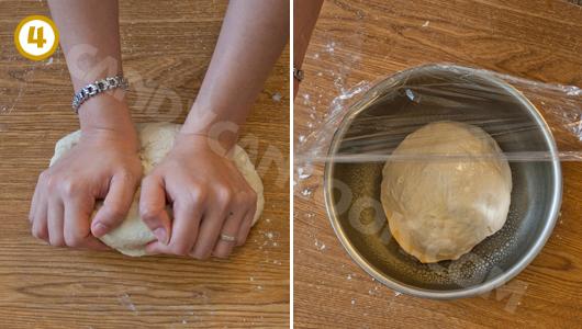 Nhào bột và ủ bột bánh Pizza