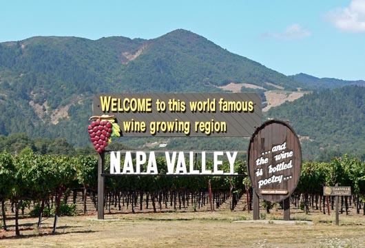 Thung lũng Napa - bang California