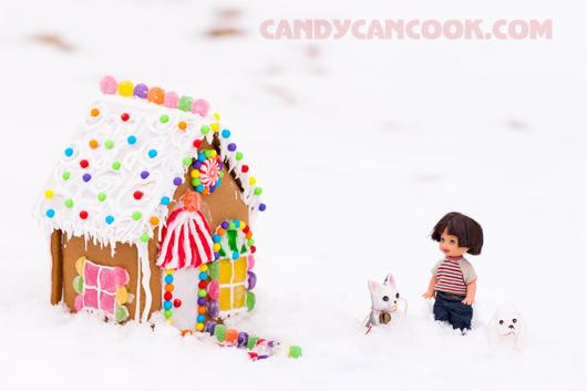 Thành phẩm vô giá - Gingerbread house