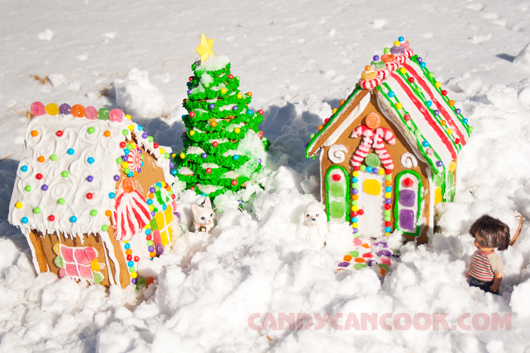 Về tuổi thơ cùng gingerbread house
