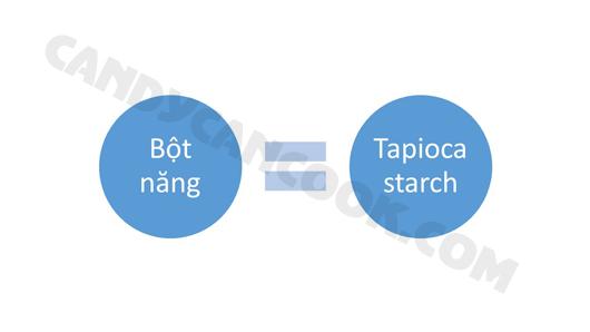 Bột năng - Tapioca starch