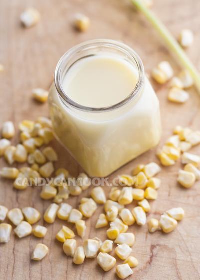 Sữa ngô bổ dưỡng đễ làm
