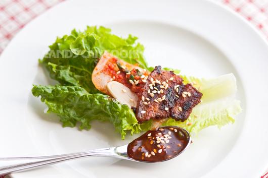 Thịt nướng BBQ kiểu Hàn Quốc và sốt ssamjang
