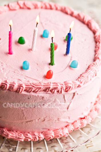 Bánh ga tô (gateaux) mừng sinh nhật Bang :D