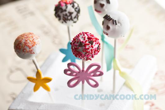 Cake pops - đơn giản nhưng ấn tượng
