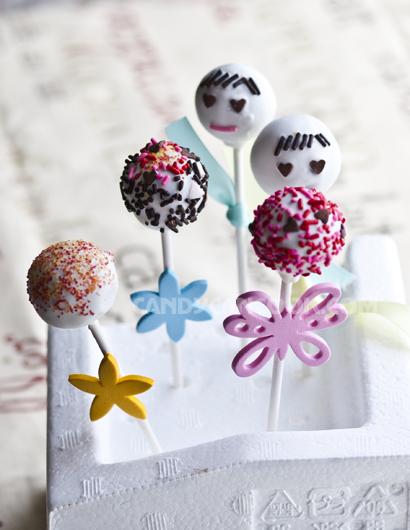 Kẹo mút mà không phải là kẹo mút - Chính là cake pops ^^
