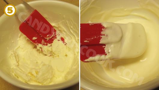 Làm tan chảy đường bọc kẹo (candy coating) bằng lò vi sóng