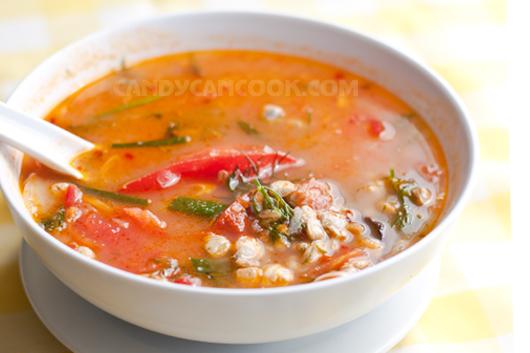 Canh hến chua chua cay cay cực đưa cơm dù là ngày đông hay ngày hè