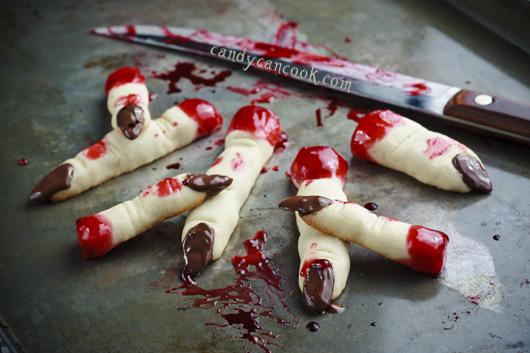 Khóc thét với Bánh quy ngón tay (Finger Cookies) =)))