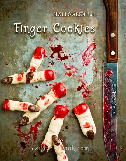Rùng rợn với bánh quy ngón tay (Finger cookies) - Happy Halloween