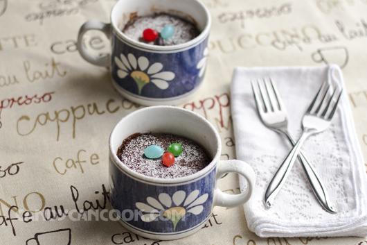 Hấp dẫn bánh chocolate làm bằng lò vi sóng (microwave)