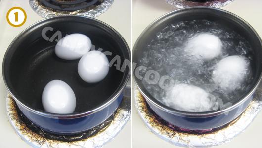 Cách luộc trứng sao cho ngon