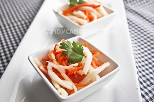 Củ cải muối sổi - Đồ chua ngon mà dễ làm