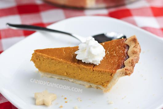 Bánh Pumpkin Pie vừa đẹp vừa ngon