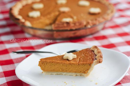 Pumpkin Pie (Bánh Pie Bí đỏ) cho những lời cám ơn