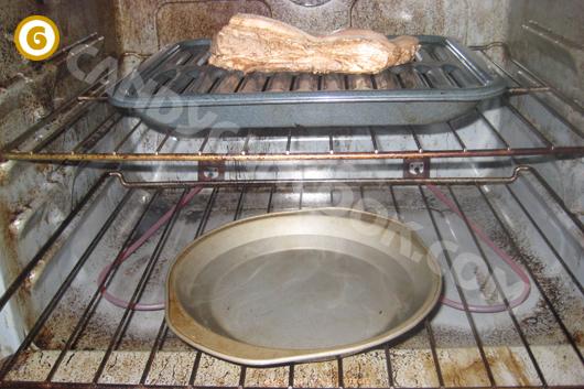 Chuẩn bị nướng thịt