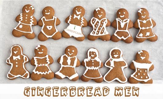 Giáng sinh ấm áp cùng bánh quy gừng (gingerbread cookies)