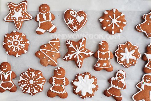 Thỏa thích sáng tạo trang trí bánh gừng (gingerbread cookies)
