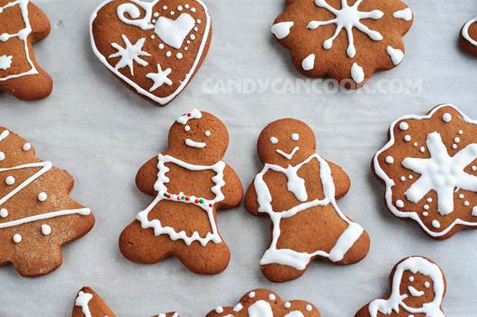 Bánh quy gừng (gingerbread cookies) mang lại sự ấm áp cho tất cả mọi người